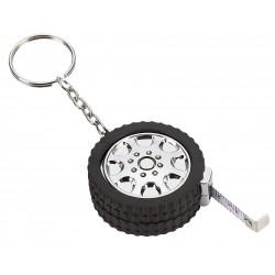 Pneu porte-clés galon à mesurer 3'/1 m