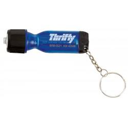 , Mini-tournevis 4 têtes porte-clés, lampe de poche, Busrel