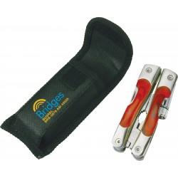 Pince de poche et lampe - 8 fonctions