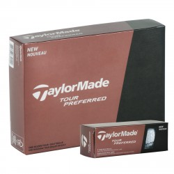 , Golf balls TaylorMade Tour Preferred - Box of 12 balls, Busrel