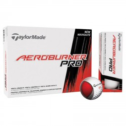 , Balles de golf TaylorMade AeroBurner Pro - Boîte de 12 balles, Busrel