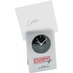 , Analog alarm clock and note holder, Busrel