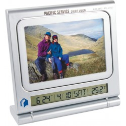 Clock picture frame - thermometer & dry erase board