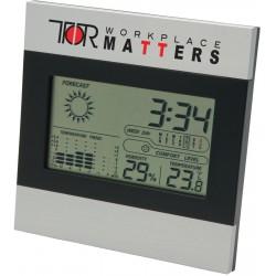 , Horloge et station météo deux tons, Busrel