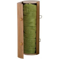 Serviette et boîte de bambou