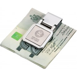 , Stainless steel two-tone money clip, Busrel