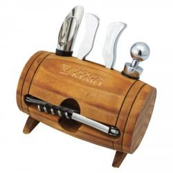 , Barril de vin décoratif avec accessoires pour le service, Busrel