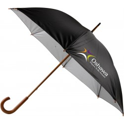 Manual walking cane umbrella