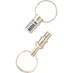 , Snap-apart double key ring, Busrel