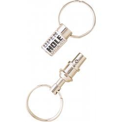 , Snap-apart double key ring, Busrel