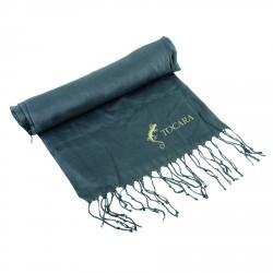 , Foulard à franges avec boîte cadeau pliable, Busrel