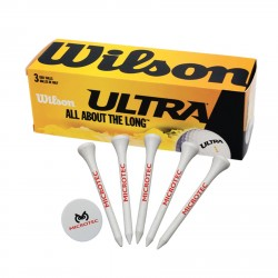 , GOLF PACKAGE (4780)\nBalls, tees and marker, Busrel