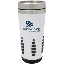 Race track thermal tumbler