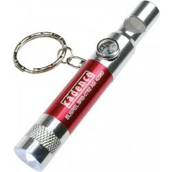 , Porte-clés sifflet avec lumière DEL et boussole, Busrel