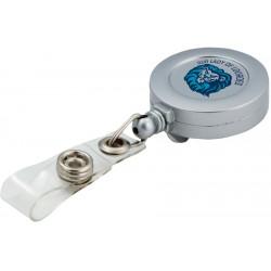 , Retractable badge holder - direct imprint, Busrel