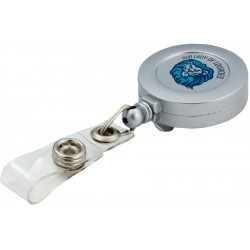Retractable badge holder - direct imprint