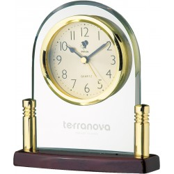 , Elegant high gloss - desk clock, Busrel
