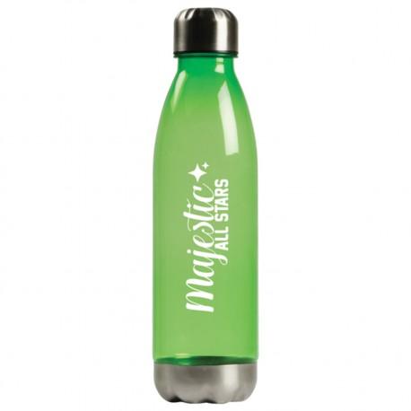 , Transparent Plastic (AS) Sports Bottle, Busrel