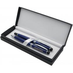 """, Coffret avec stylos en métal \\""""Mendoza\\"""", Busrel"""