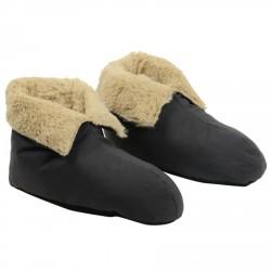 Microfibre slippers