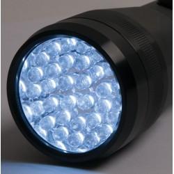 Mag-style flashlight