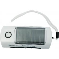 Lampe de poche, radio solaire, chargeur à cellulaire