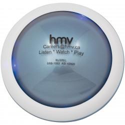 , Horloge parlante et thermomètre avec signalisation clignotante par lumières DEL bleues, Busrel