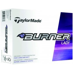 , Balles de golf TaylorMade Burner Lady - Boîte de 12 balles, Busrel