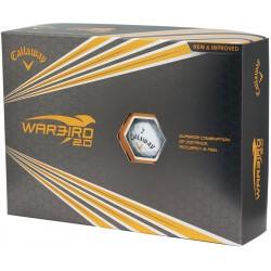 , Balles de golf Callaway Warbird 2.0 - Boîte de 12 balles, Busrel