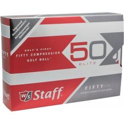 , Balles de golf Wilson Fifty - Boîte de 12 balles, Busrel
