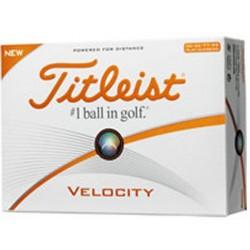 , Balles de golf Titleist Velocity - Boîte de 12 balles, Busrel