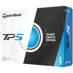 , Balles de golf TaylorMade TP5 - Boîte de 12 balles, Busrel