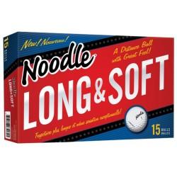 , Balles de golf TaylorMade Noodle long & soft - Boîte de 15 balles, Busrel