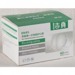 KN95, Intertek report ASTM level3 equivalent. BFE 99,85%, PFE 99,40%, Box of 40.
