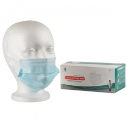 3 pli masks, ASTM level 1, BFE 99,47%, PFE 98,90%, box 50.